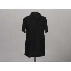 180g Golf Shirt Black
