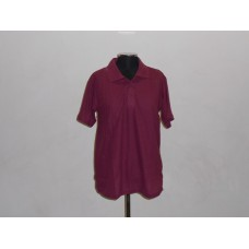 Kiddies 180g Golf Shirt Maroon