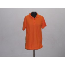 Kiddies 180g Golf Shirt Orange