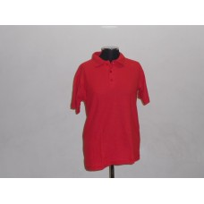180g Golf Shirt Red
