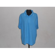 Kiddies 180g Golf Shirt Turquoise