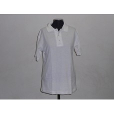 Kiddies 180g Golf Shirt White