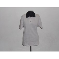 Birds Eye Golf Shirt White