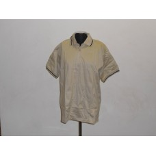 Double Mercerised Golf Shirt Khaki