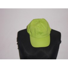 5 Panel Cap Lime