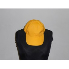 6 Panel Cap Yellow