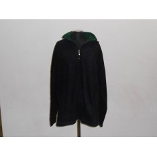 1/4 Zip Polar Fleece Black/Bottle