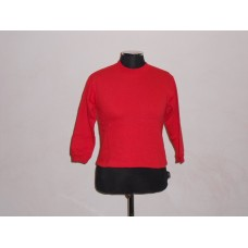 Kiddies Crew Neck Sweat Top Red
