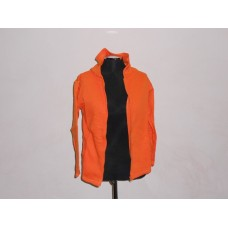 Kiddies Full Zip Hoodie Orange