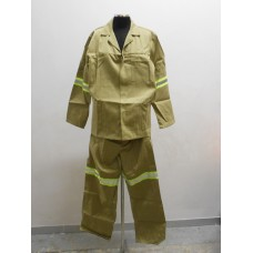 2 Piece Conti Suit with Reflectors Khaki