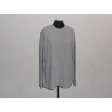 180g Long Sleeve T-Shirt Melange Grey