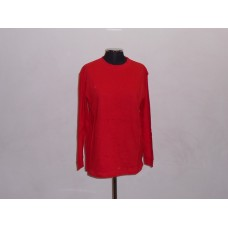 180g Long Sleeve T-Shirt Red