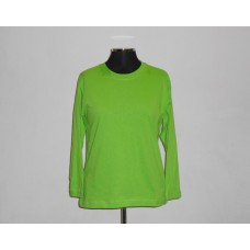 Kiddies 145g Long Sleeve T-Shirt Lime