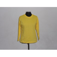 Kiddies 145g Long Sleeve T-Shirt Yellow