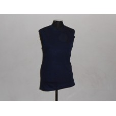 165g Sleeveless T-Shirt Navy